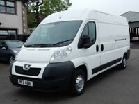 2014 peugeot boxer 335 L3H2 PROFESSION 1 company owner from new, psvd march 2019