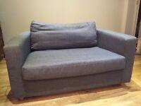 Habitat Two-Seater Sofa Bed (Dark Grey)