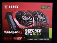 MSI GTX 1070 Gaming X 8GB. With FREE steam link