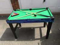 Children's games table