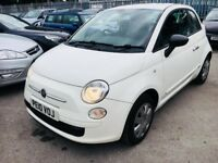 FIAT 500 1.2 POP PETROL MANUAL WHITE 2010 1 OWNER