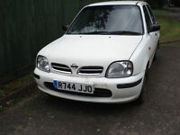 Nissan Micra 1.0lt Automatic with MOT