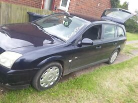 Vauxhall vectra 2.0 dti 2005 no mot