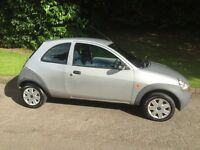 FORD KA 2004 SILV 1.3 ** 31000 RECORDED MILES** FSH 12 MONTH MOT EXCELLENT ALL ROUND 2 OWNERS £995