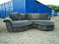 Grey Corner Sofa *Delivery Available*