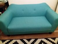 Small Used Sofa, large Arm chair and coffee table for sale