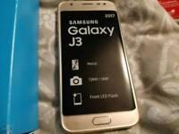 Samsung Galaxy J3 2017 Gold Unlocked SIM FREE - BRAND NEW