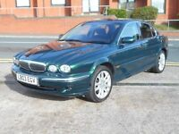 03 JAGUAR X-TYPE 2.1 V6 + MOT AUGUST 2017 + BRG
