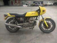 Moto Guzzi and Suzuki project bikes. Gs550e 350cc imolas cafe racers