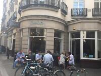 Front of House/Barista for busy Mon -Fri Mayfair Coffee Shop