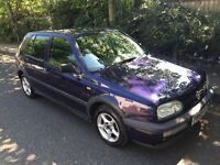 CLAASIC GOLF, 1996 P REG AUTOMATIC GOLF 1.8 SE DONE 64000 MILES, 2 OWNERS FROM NEW. STUNNING CAR