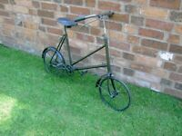 Rare Vintage 1920's Child's Pavement Cycle for Riding or Display