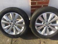 Golf alloys and tyres