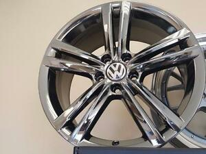 "OEM Volkswagen wheels PVD chrome 18"" 5 x 112"