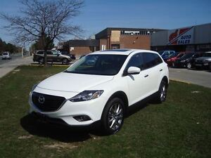 2015 Mazda CX-9 GT ~ AWD ~ 7 PASS. ~ NAVIGATION ~ LEATHER ~