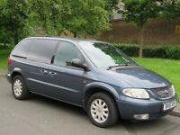 CHRYSLER VOYAGER 2.5 DIESEL MANUAL 7 SEATER MPV - PART EXCHANGE WELCOME