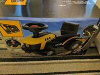 Kids ride on small JCB brand new unopened