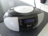 Portable Bush stereo DAB Digital Radio / CD player with line input - works perfectly