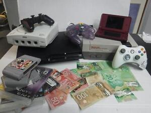 $$$ CASH $$$ CASH For Video Game Consoles. INSTANT CASH LOANS on Video Game Consoles. We Pay Cash On Spot. $$$