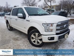 2015 Ford F-150 Platinum SuperCrew 145""