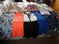 Girls quality clothing 10-12years mainly