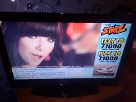 JVC 32'' LCD TV TELEVISION FREEVIEW, HDMI + REMOTE FULL HD 1080P