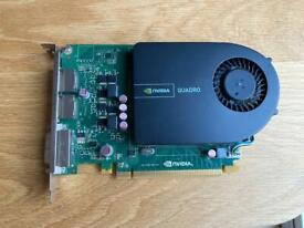 Nvidia Quadro 2000 1GB graphics card