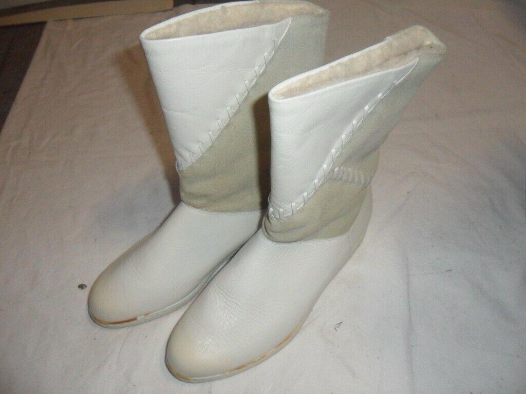 Elefanten - Kinder-Winterschuhe - Stiefel - Leder - Größe 36 weit - Schaft 29 cm