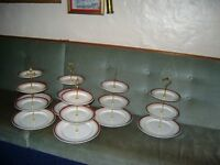 LOVELY COLLECTION OF 3 TIER SANDWICH /PASTRY/CAKE STANDS