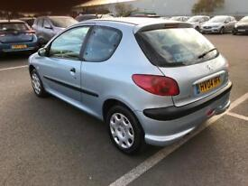 2004 Peugeot 206 1.4cc Full 12 Months MOT CD player central locking very reliable cheap car