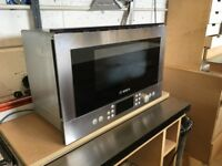 bosch microwave integrated wall unit