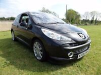 2008 PEUGEOT 207 1.6 GT..150 BHP..MOTED TO NOVEMBER..POSSIBLE PART EXCHANGE..CREDIT CARDS ACCEPTED