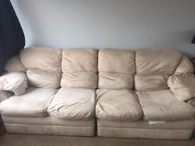 5 seater corner sofa.