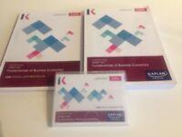 CIMA Official Study Books - Fundamentals of Business Economics