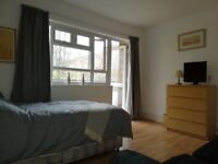 Beautiful big Double Room with private Balcony