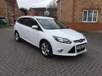 2014 FORD FOCUS ZETEC 1.6 TDCI , 12 MONTH MOT, SERVICE HISTORY, FULL HPI CLEAR, LOW MILEAGE,