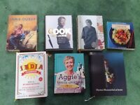 Various Cooking Books, Jamie Oliver, Heston Blumenthal, Nigel Slater, all excellent condition