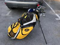 Golf bag and Rescue Wood
