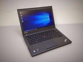 Lenovo IBM ThinkPad X240 UltraBook laptop 500gb or 256gd SSD Intel Core i5 4TH generation processor