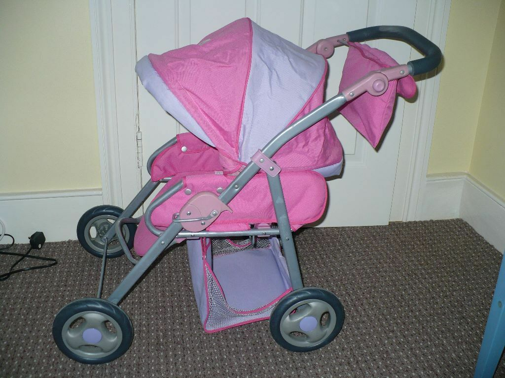 Zapf Creation Baby Born Combi Pram Carrycot And Pushchair
