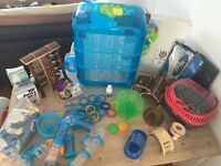 Hamster/Gerbil Fantazia Cage and LOTS of accessories!!