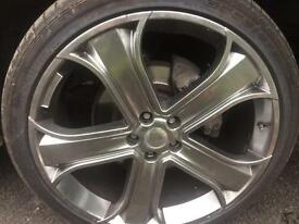 MERCEDES ALLOY WHEELS 5X112 22 INCH