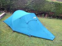 """Wild Country Tents """"New Zephyr"""" Green Tent"""