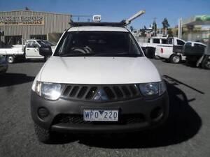 2008 MITSUBISHI TRITON TWIN CAB UTE 4X4 WITH CANOPY Warrenheip Ballarat City Preview