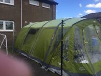 6 Man Vango Airbeam tent with carpet and footprint -£600