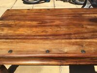 Sturdy Wooden Coffee Table measuring 1.10mX0.6mX0.4m
