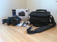 SONY Cyber-shot DSC-HX200V Camera and Case - £100.00