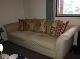 Two large settees