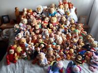 Medium collection of Winnie the pooh bears and a few of his friends!