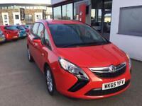 Vauxhall Zafira 1.4T Design 5dr (power red(g)) 2016